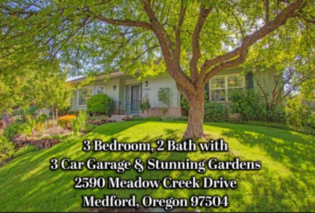 2590 Meadowcreek Dr, Medford, Or for Sale