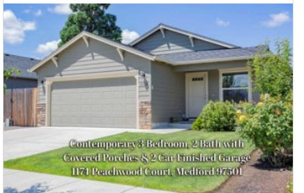 1174 Peachwood Ct, Medford Oregon for sale