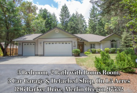 896 Barker Dr., Merlin, OR 97532