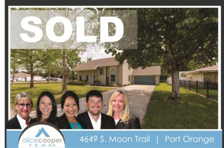4649 S Moon Trail Port Orange Sold