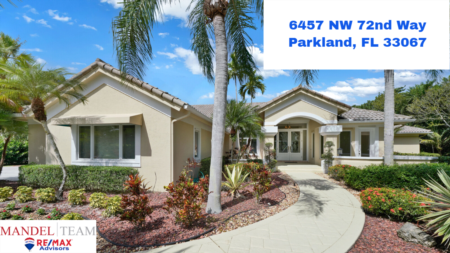 Video Tour of Parkland Home for Sale @ 6457 NW 72nd Way in the Pine Tree Estates Neighborhood