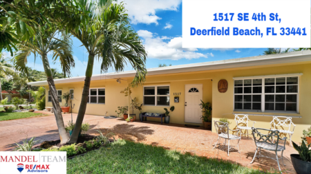 Video Tour of Deerfield Beach Home For Sale @1517 SE 4 ST