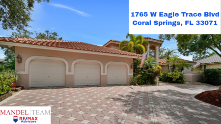 Video Tour of Coral Springs Home For Sale @ 1765 Eagle Trace Blvd W