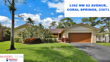Video Tour of Coral Springs Home For Sale @ [1392 NW 82nd Ave] in Country Wood Estates Neighborhood