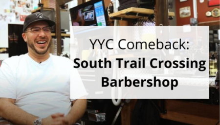 Eye On Calgary: South Trail Crossing Barbershop