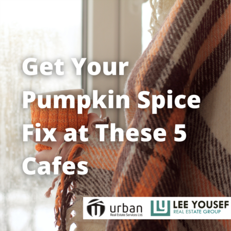 5 Cafes to Get Your Pumpkin Spice Fix