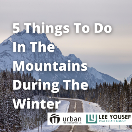 5 Things to do in the Mountains This Winter