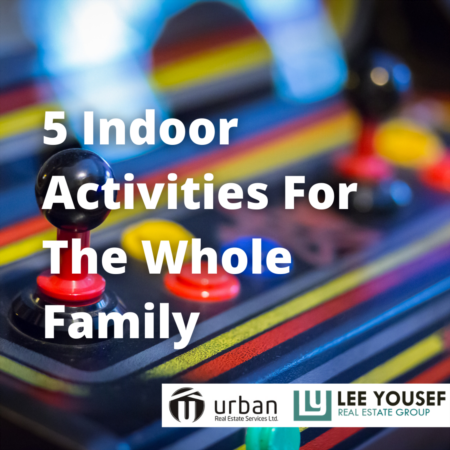 5 Indoor Activities for the Whole Family