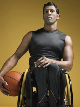 Cheer at the National Wheelchair Basketball Tournament April 7
