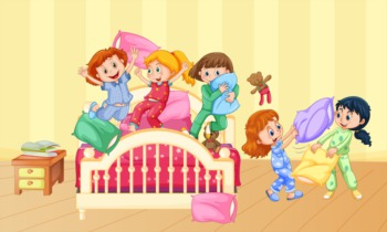 Take the Kids to a Slumber Party at All About Kids May 27