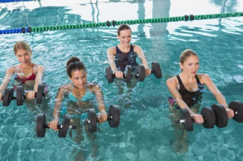 Take a Water Fitness Class at Tom Sawyer State Park This July