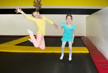 Jump Around at Sky Zone
