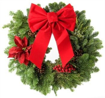 Make Your Own Holiday Wreath December 13