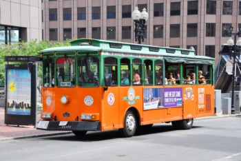 Hop on the Frankfort Avenue Trolley December 30