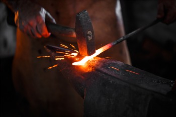 Learn Blacksmithing at Kaviar Forge and Gallery January 14