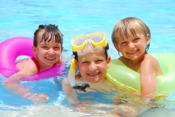 Go Swimming at All About Kids in Crestwood March 26