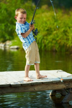 Let the Kids Go Fishing with the ECHO Program April 18