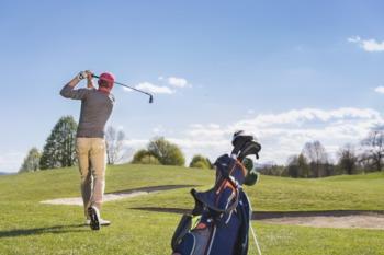 Clap at the Men's Metro Golf Championship June 24