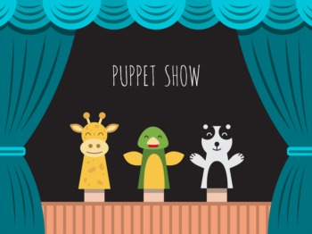 See a Puppet Show by Squallis Puppeteers September 2