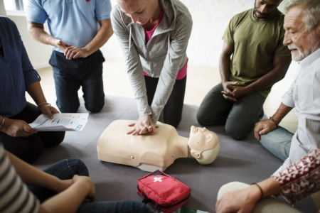 Learn CPR at the Louisville Fire Department Engine #1 May 9