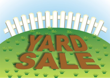 Browse at the Upscale Cocktail Yard Sale at the Douglass Loop Farmers Market June 23