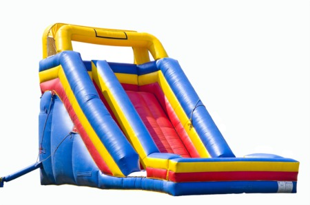 Go to Bounce 'N Round Inflatables for Open Play July 6