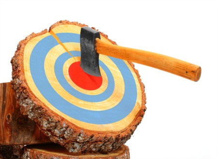 Throw Axes at Flying Axes This January