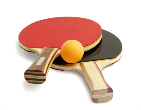 Play Ping Pong at Amy Z's Pub April 15