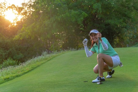 Play Golf in Prospect at Hunting Creek Country Club October 14