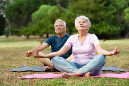 Seniors, Go Do Some Yoga October 16