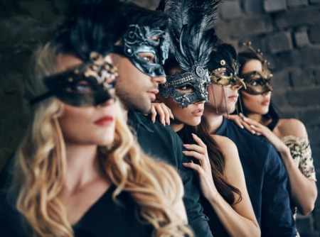 Go to a Masquerade Gala at the Scottish Rite Temple October 26