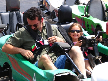 Race Around in a Go Kart at Malibu Jack's November 7