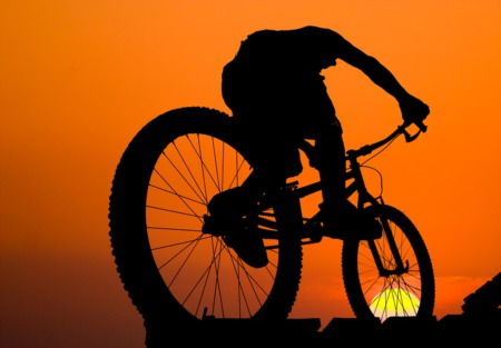 Take a Mountain Bike Ride at Frisbee Field in Cherokee Park November 25