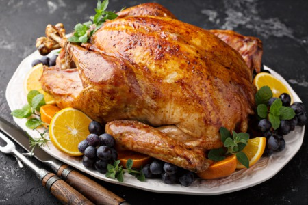 Feast at the Senior Thanksgiving Luncheon November 27