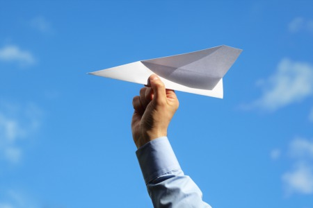 Have a Paper Airplane Competition This August