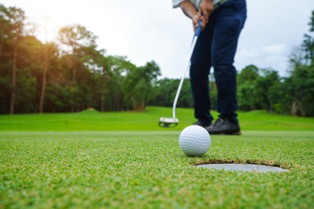 Play a Round of Golf This October