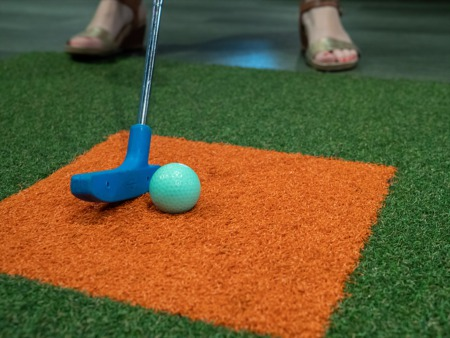 Play Indoor Mini Golf This January
