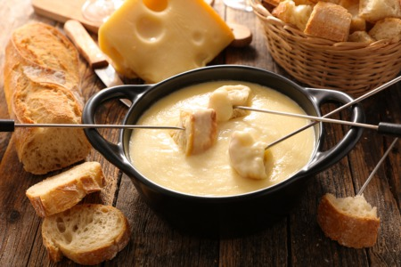Have Fondue for Two February 14
