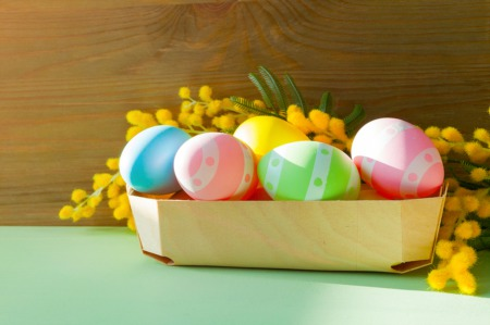 Go on an Easter Egg Hunt April 3