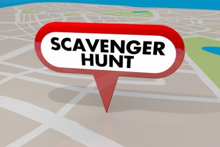 Go on a Car Scavenger Hunt April 18