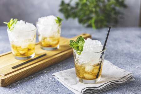 Learn How to Make a Fresh Mint Julep May 3
