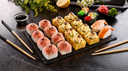 Try Sushi This May