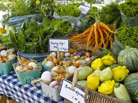 Shop at the Farmer's Market July 4