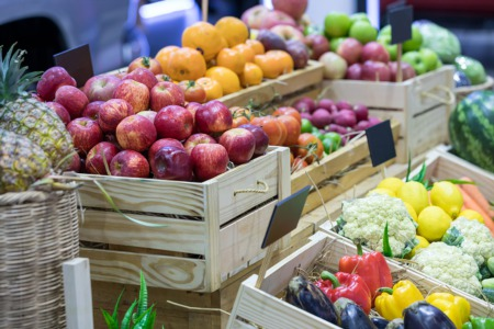 Buy Fresh Food at the Street Market This August