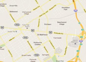 St. Matthews - A City Within a City