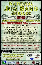 National Jug Band Jubilee in Louisville on September 15th