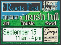 The RootsFest in Irish Hill on September 15th