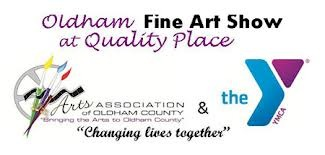 Oldham County Fine Arts Show at the YMCA November 2nd-4th