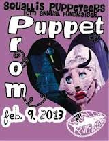 Squallis Puppeteers Present the 10th Annual Puppet Prom February 9th