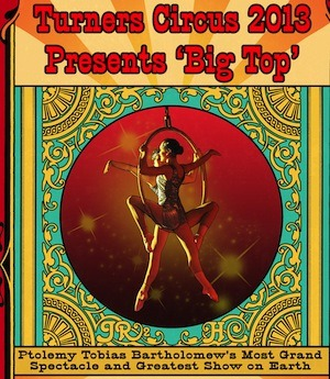 Louisville Turners Big Top Circus March 22nd - 24th